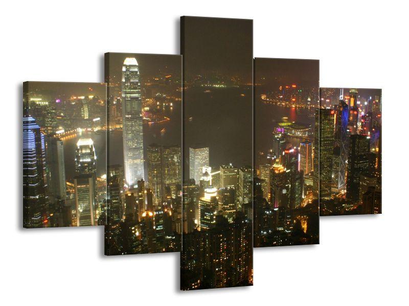 Barvy večerního velkoměsta