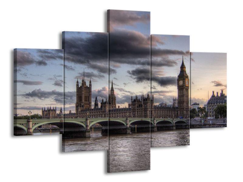 Zamračený Londýn