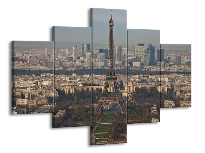 Vícedílný obraz Eiffelova věž 100x70 cm