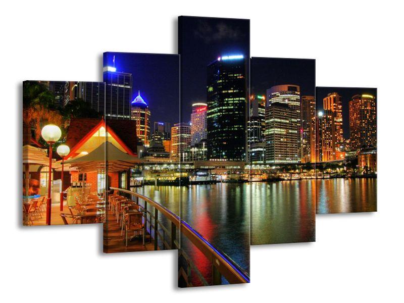 Vícedílný obraz New York 100x70 cm