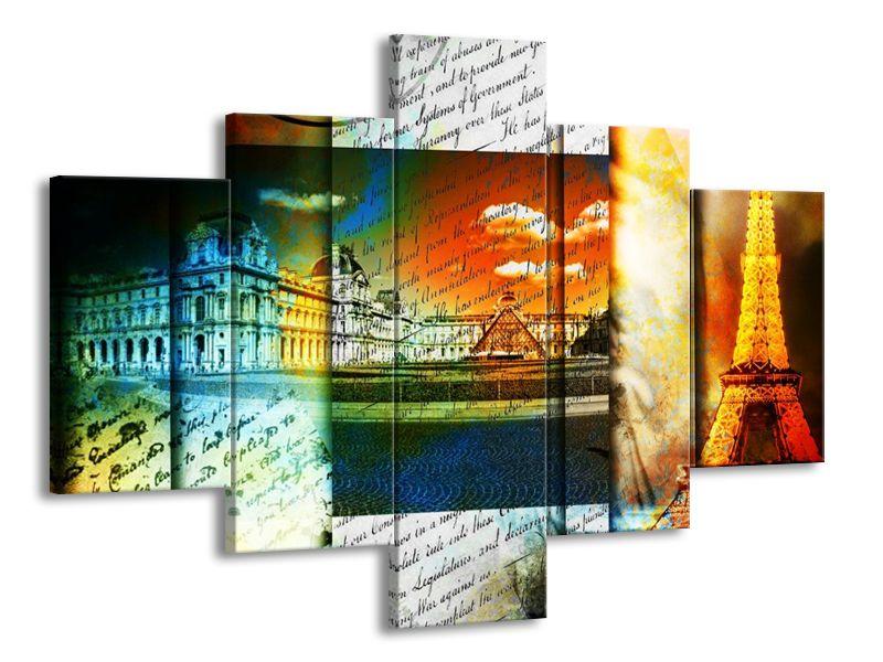 Vícedílný obraz Kouzelná Paříž 100x70 cm