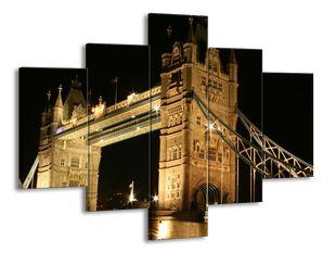 Tower Bridge za tmy
