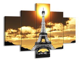 Eiffelova věž a slunce