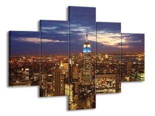 New York z nadhledu