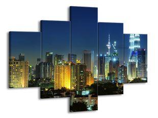 Večerní mrakodrapy