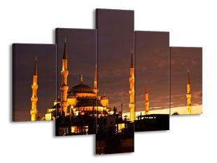 Istanbul mešita za soumraku