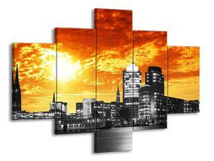 Město pod ohnivým nebem