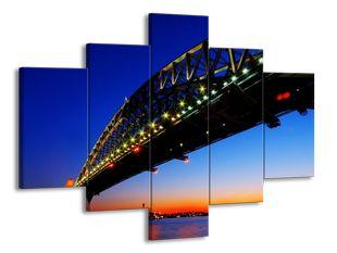 Most pod modrým nebem
