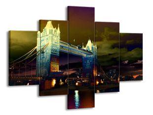 Tower Bridge v efektu