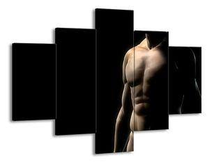 Mužské břicho