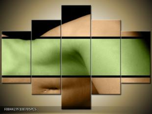 Ženský klín zelená