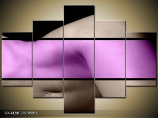 Ženský klín dvoubarevně