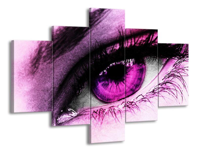 Fialové oko