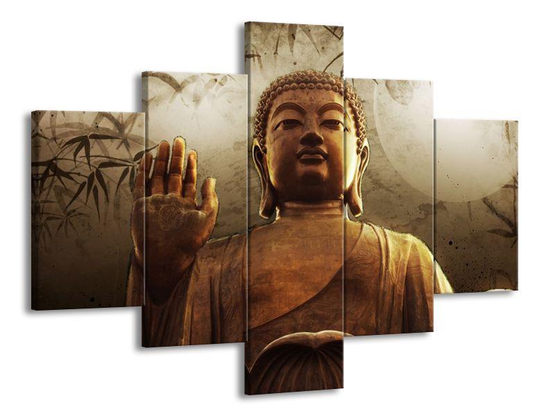 Buddha a měsíc