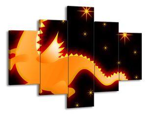Svítící drak