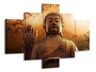 Buddha a slunce