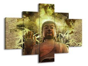 Buddha v zeleném oparu