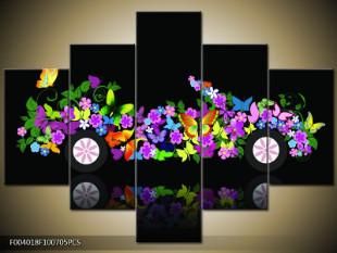 Květinová kára