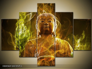 Buddha v kouřové cloně