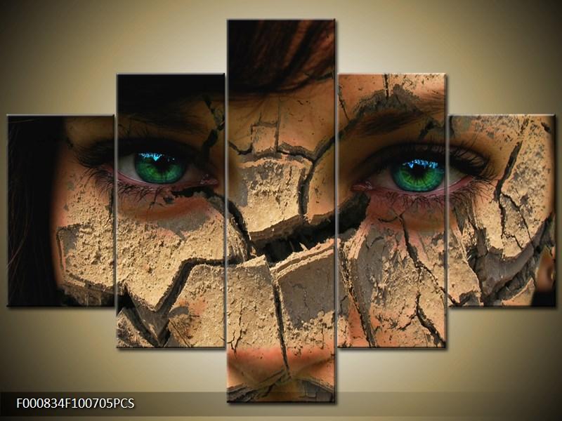 Zelené pronikavé oči