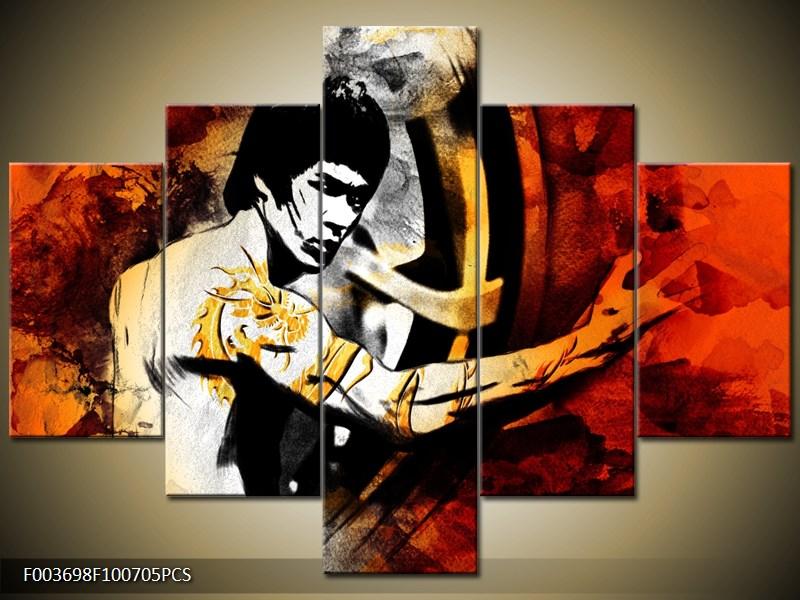 Bruce Lee černobíle