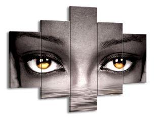 Okrové oči
