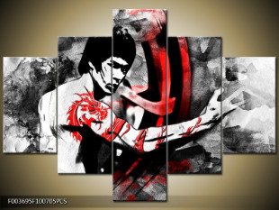Bruce Lee kresba