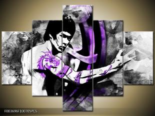 Bruce Lee fialový