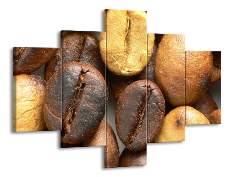Kávova zrna v detailu