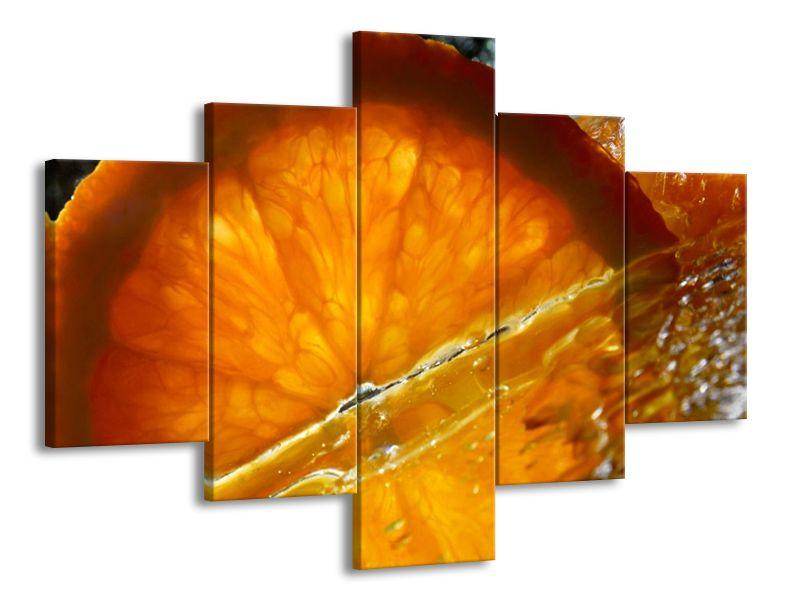 Pomeranč ve vodě