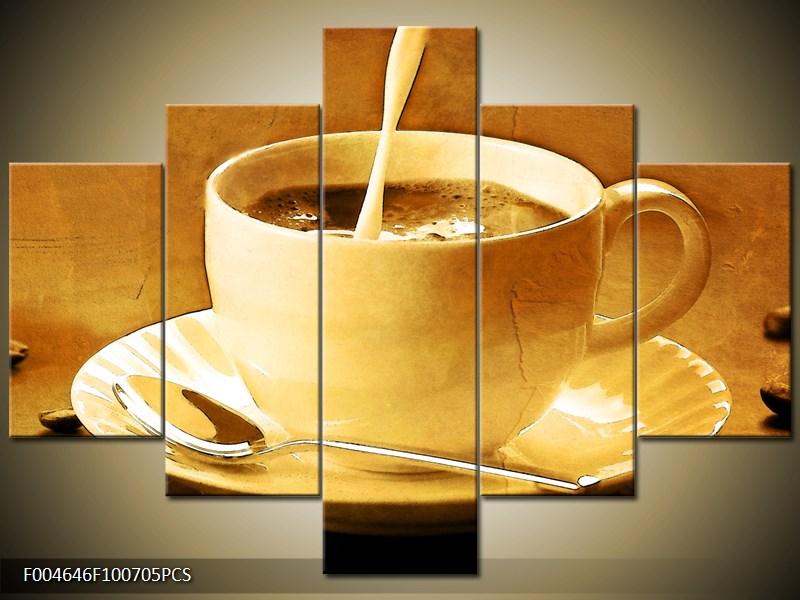 Odpolední káva s mlékem