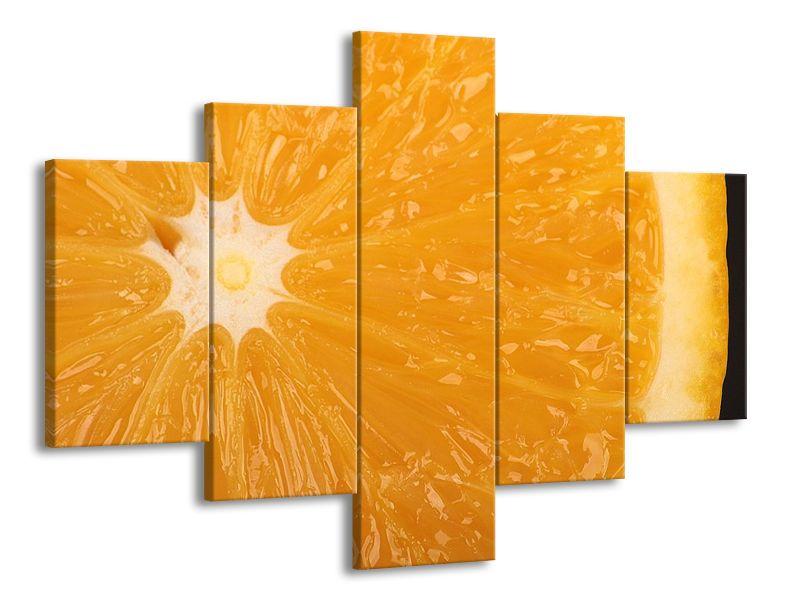 Pomeranč v detailu