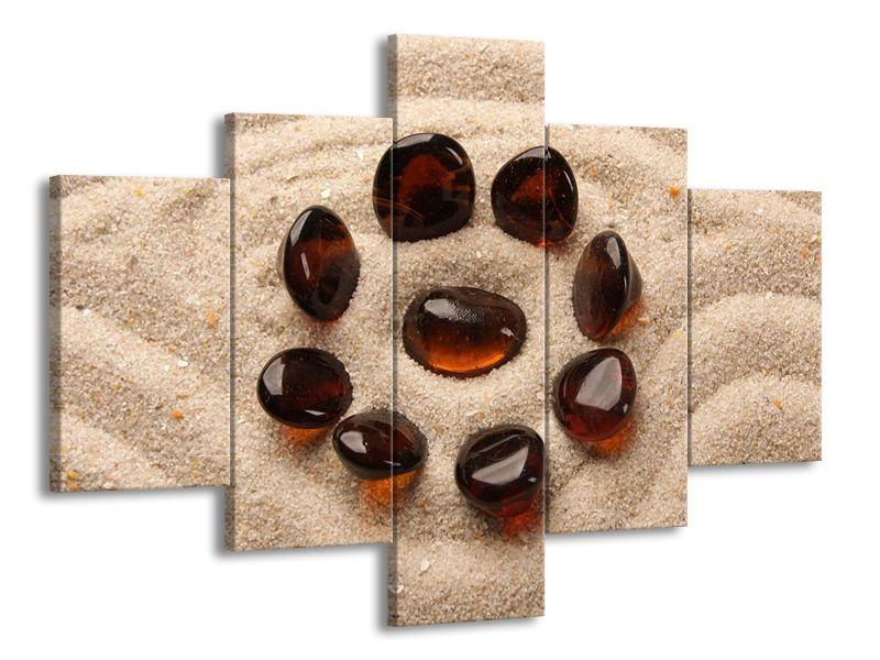 Kameny v písku