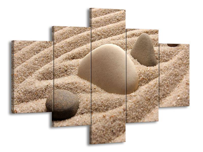 Kámen v písku
