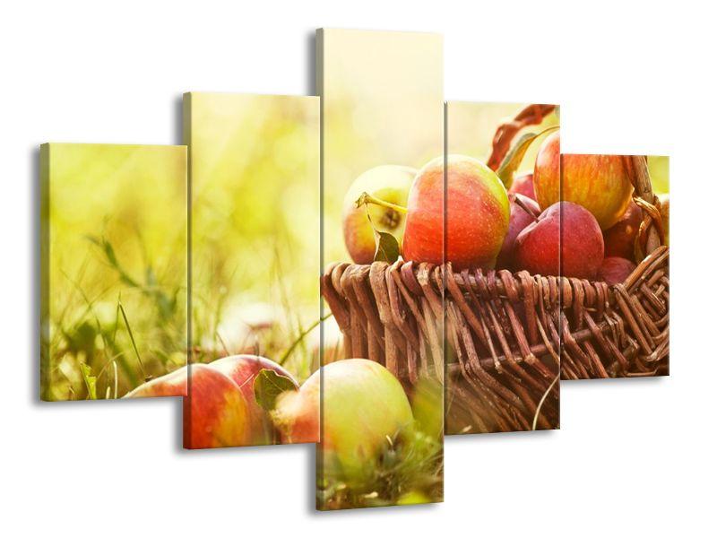 Jablka v košíků
