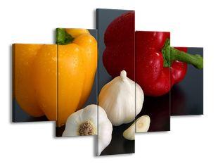Paprika a česnek