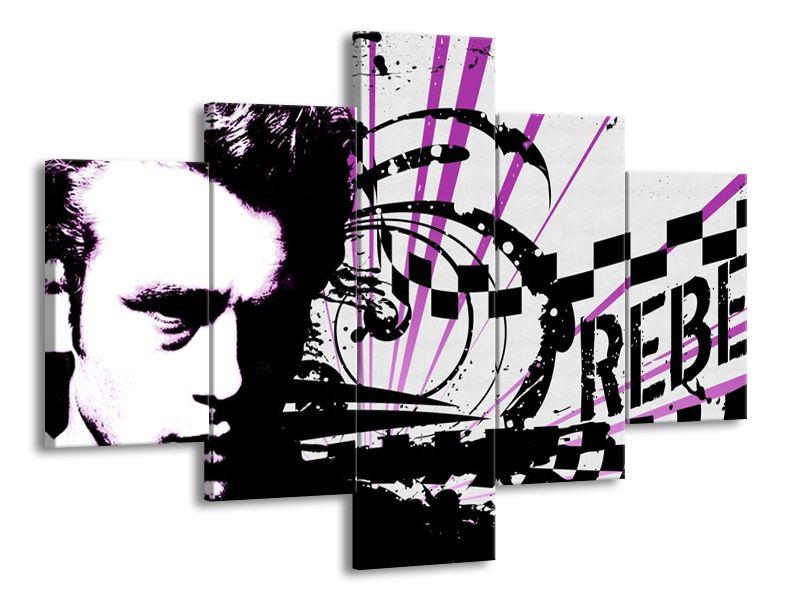 Rebel fialová