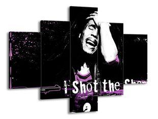 Bob Marley shot purple