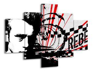 Rebel červená