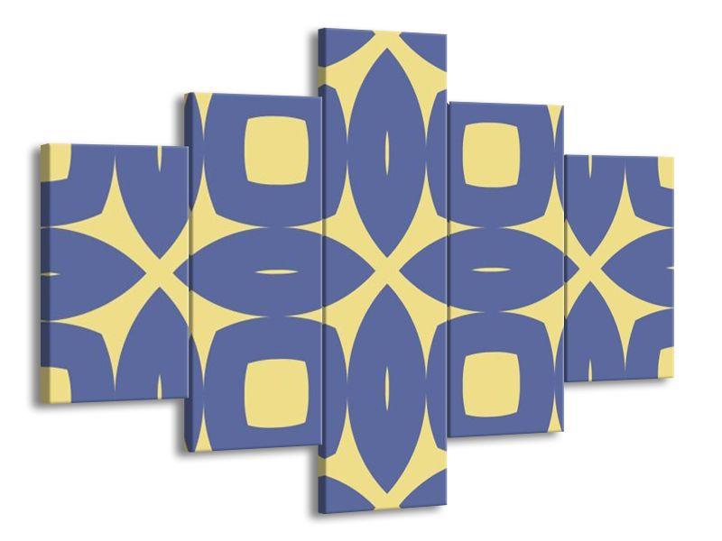 Vzorovaná modř