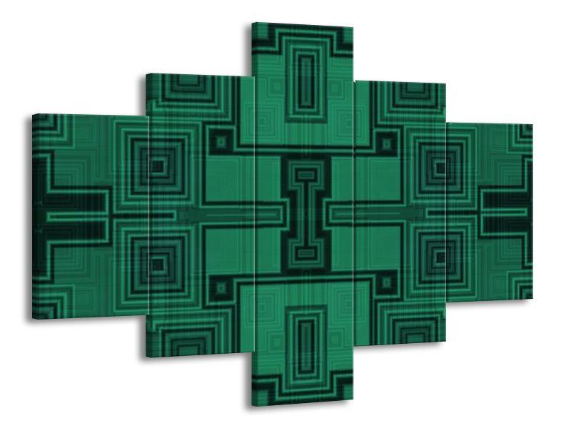 Mozaika zelená