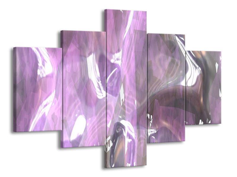 Průsvitná fialová