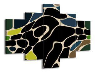 Mozaika černá