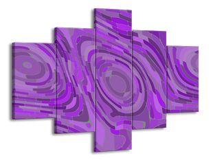 Mozaika fialová