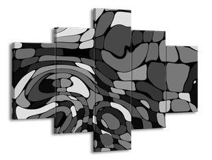 Mozaika šedá