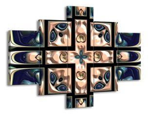 Modrorůžová kachlice