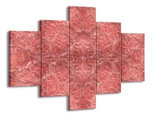 Růžový povrch krystal