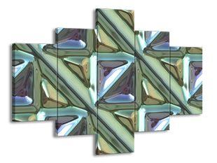 Kachlice kovový efekt