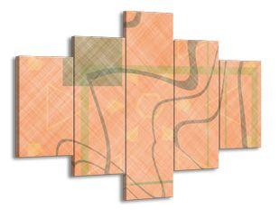 Oranžová textura