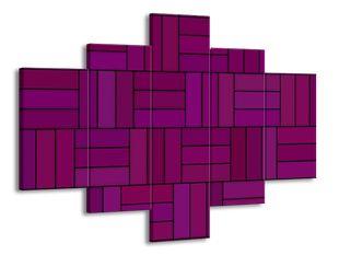 Mozaika fialová 2